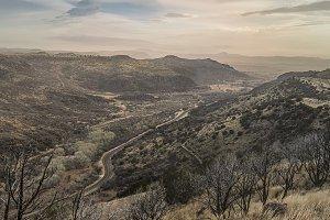 Scenic Overlook in Davis Mountains
