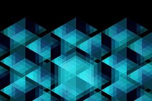 Prismatic Geometry Pattern