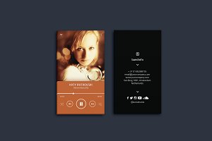 Music Business Card Vol. 01