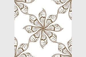 mandalas seamless pattern.
