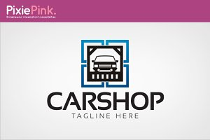 Car Shop Logo Template