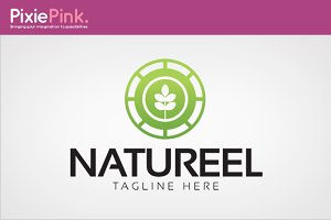 Natureel Logo Template