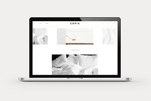 Copia - Minimalist WordPress Theme