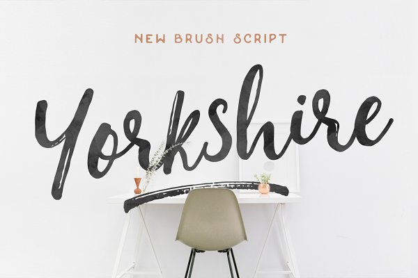 Yorkshire - Brush Script