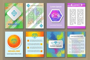 8 Abstract Fliers