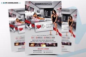Love Lust Flyer Template