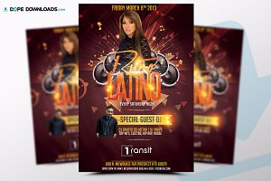 Ritmo Latino Flyer Template