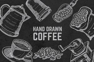 Hand Drawn Coffee