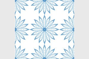 Blue seamless pattern.