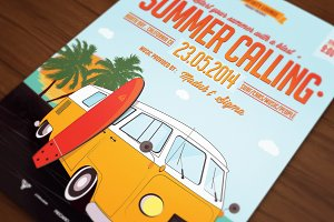 Retro Car Poster/Flyer VIII