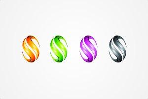Letter S / Spiral - Logo