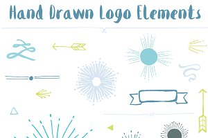 Hand Drawn Logo Elements