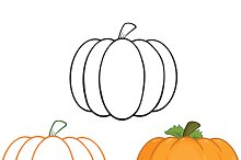 Pumpkin Illustrations Collection