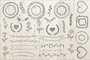 40+ Love Design Elements Vector