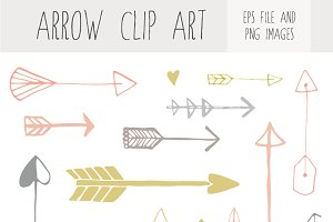 Handdrawn Arrow Clip Art