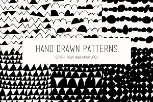 Hand drawn patterns