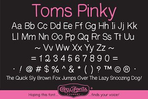 Toms Pinky