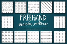 Freehand Seamless Patterns