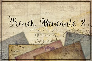 French Brocante Texture set 2