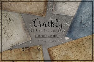 Crackly Fine Art Textures