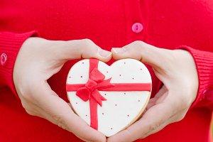 Valentin - wedding cookie.