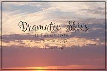 Dramatic Skies Fine Art Textures