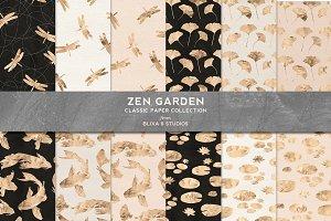 Zen Garden Golden Koi & Dragonfly