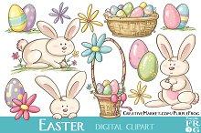 EASTER - Digital Clipart