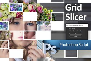 Grid Slicer Photoshop Script