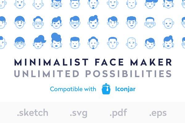 Face Maker Bundle - Sketch