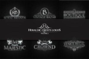 Heraldic Crest Logos Vol.2