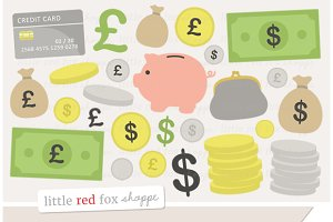 Money & Saving Clipart