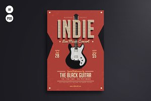 Indie Week Flyer