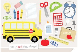 Back To School Clipart Graphics