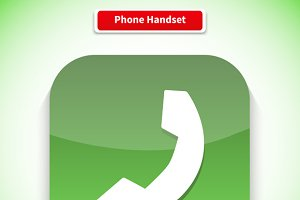 Phone Handset App Icon