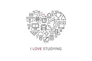I Love Studying