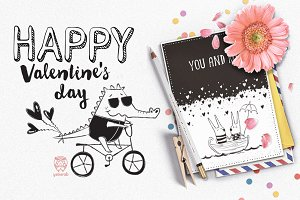 Greeting Cards • Vector Set