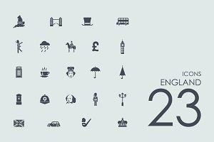 23 England icons