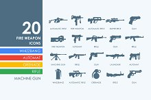 20 Firearms icons
