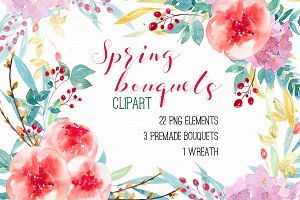 Spring bouquets RB-05