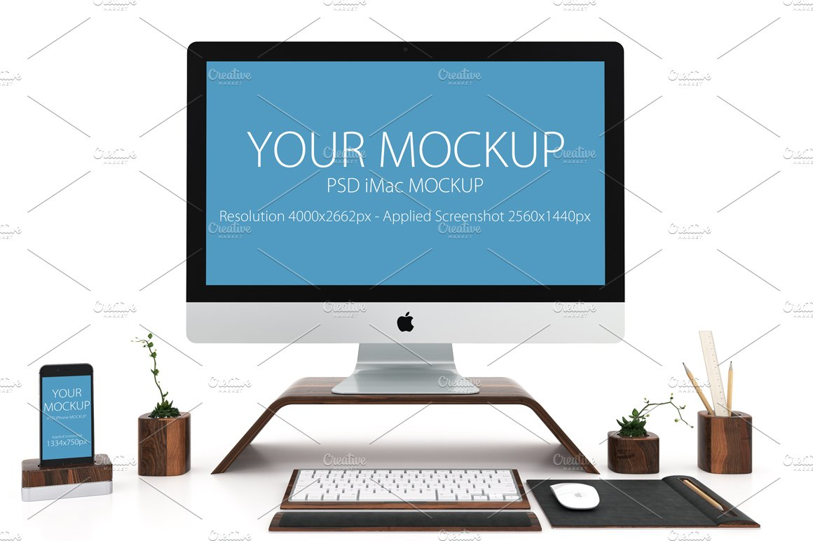 RESPONSIVE MOCKUP ~ Product Mockups ~ Creative Market