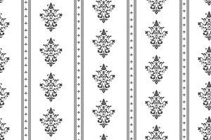 Monochrome seamless classic pattern