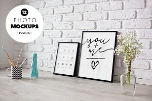 Frame vol. 1 - 12 photo mockups