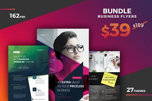 Corporate Flyer Bundle 162PSD 85%OFF