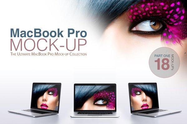 Macbook Pro Mock-ups