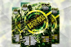 Incoming Infection - Flyer Template
