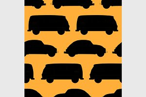 car seamless pattern.