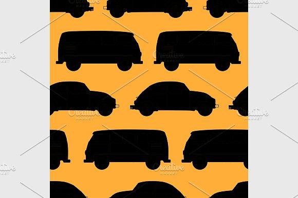 car seamless pattern.