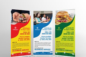 Dynamic Tools Roll-Up Banners