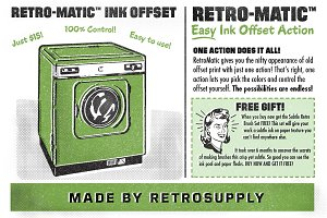 Retro-Matic - Easy Ink Offset
